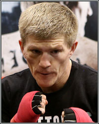 RICKY HATTON OPEN WORKOUT AS HE PREPARES FOR SENCHENKO